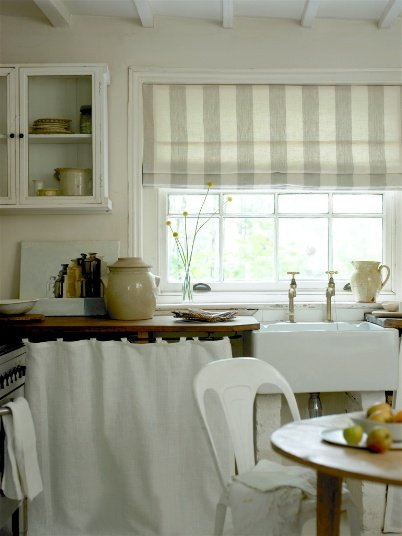 New trend home interior kitchen window treatments for Kitchen window curtains
